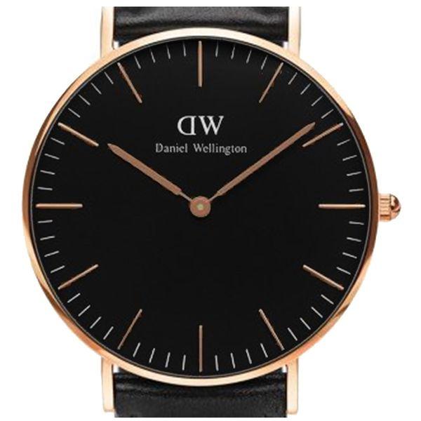 watch2love DANIEL WELLINGTON CLASSIC BLACK SHEFFIELD DW00100139 36mm zdjęcie 2