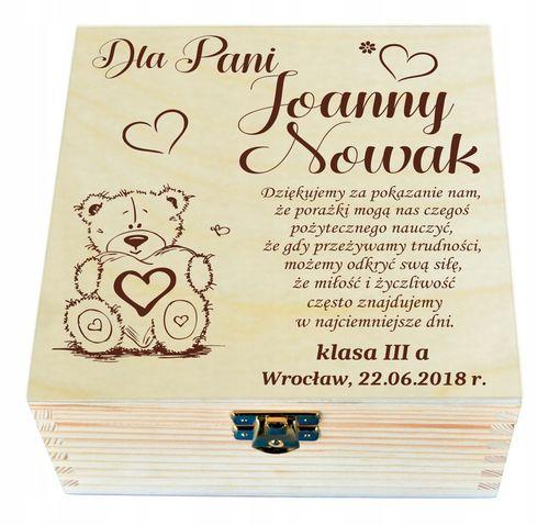 Prezent dla nauczyciela wychowawcy PODZIĘKOWANIE na Arena.pl