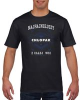 Koszulka męska NAJ CHLOPAK Z CALEJ WSI c M