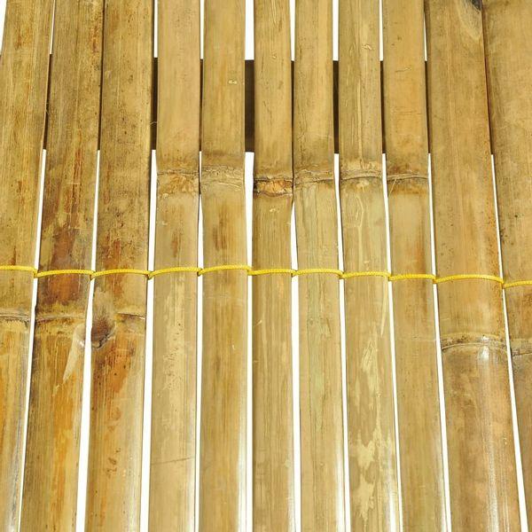 łóżko Bambusowe Do Sypialni Naturalne 180x200cm