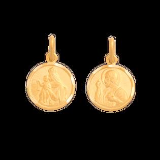 medalik szkaplerzny złoto 585/14k