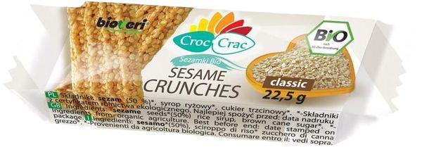 SEZAMKI CLASSIC BIO 22,5 g - CROC-CRAC (BIOVERI)