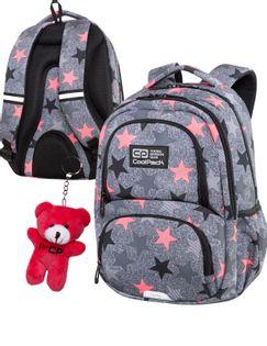 Coolpack-SPINER M-Plecak-FANCY STARS