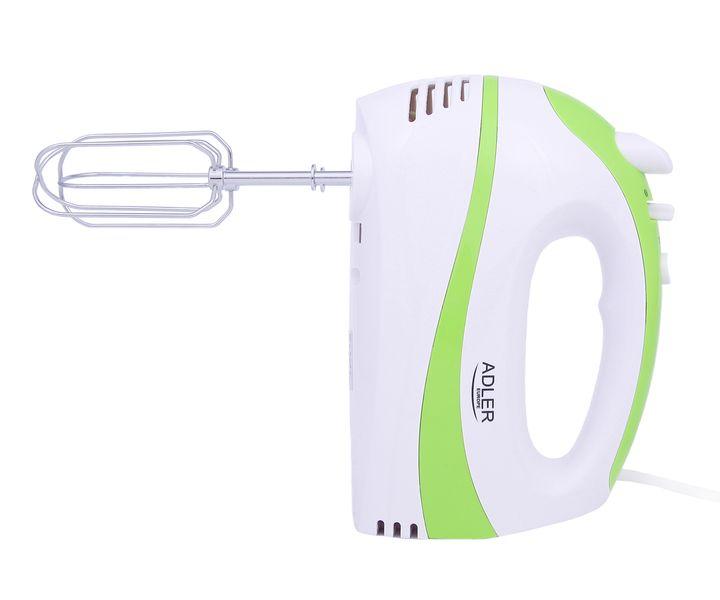 Ręczny mikser kuchenny 550 W Adler AD 4205 - zielony zdjęcie 7