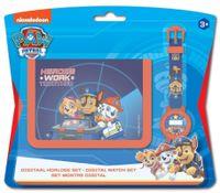 Zegarek i portfel Paw Patrol Licencja Nickelodeon (DI2107PW)