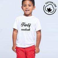 Dziecięca koszulka Cotton Like z Twoim nadrukiem 12-14