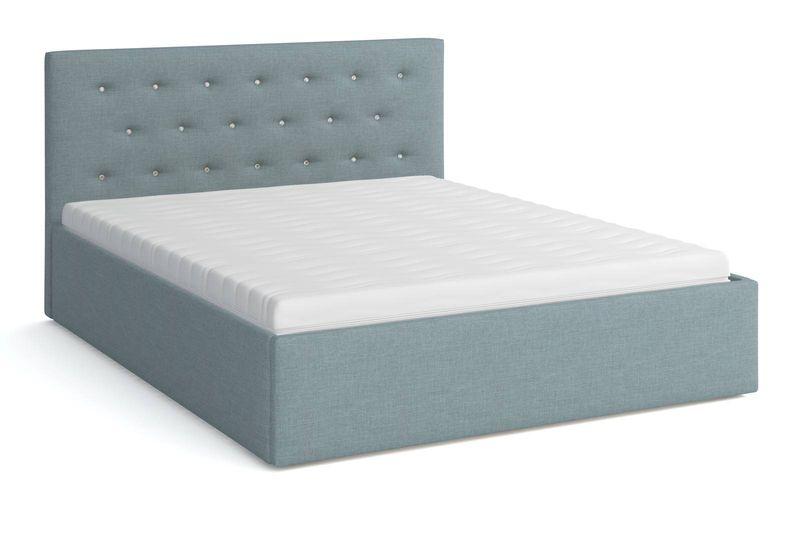 Łóżko tapicerowane z materacem 160x200 BIRD Star zdjęcie 6