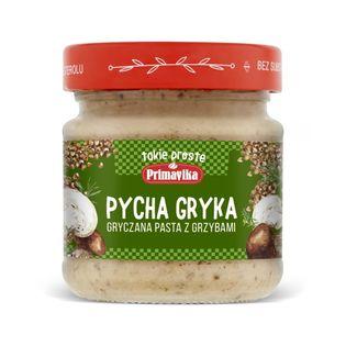 Pasta gryczana z grzybami bezglutenowa 160 g - PRIMAVIKA