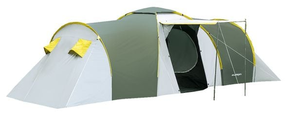 Rodzinny namiot 6-osobowy NADIR zielony