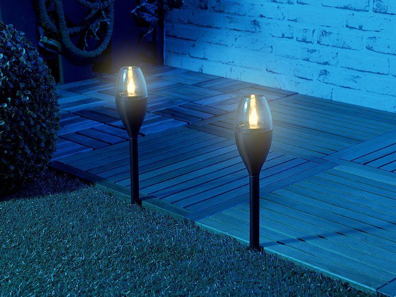 Lampa ogrodowa 2 szt. Lunartec zdjęcie 5