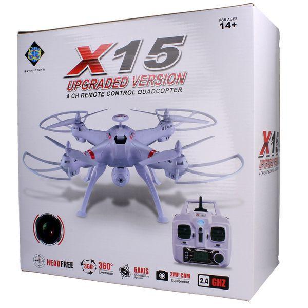 DRON TYPHON X15 z Kamerą WiFi na telefon 4000mAh (2xAku) Z184Z zdjęcie 11