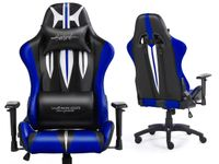 SWORD BLUE Fotel gamingowy Warrior Chairs