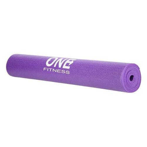 Mata do jogi 173,5x61cm fioletowa grubość 3mm waga 0,825kg fitness aerobic PVC elastyczna ABI na Arena.pl