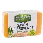 Mydło marsylskie pomarańcz 100 g - Maître Savon