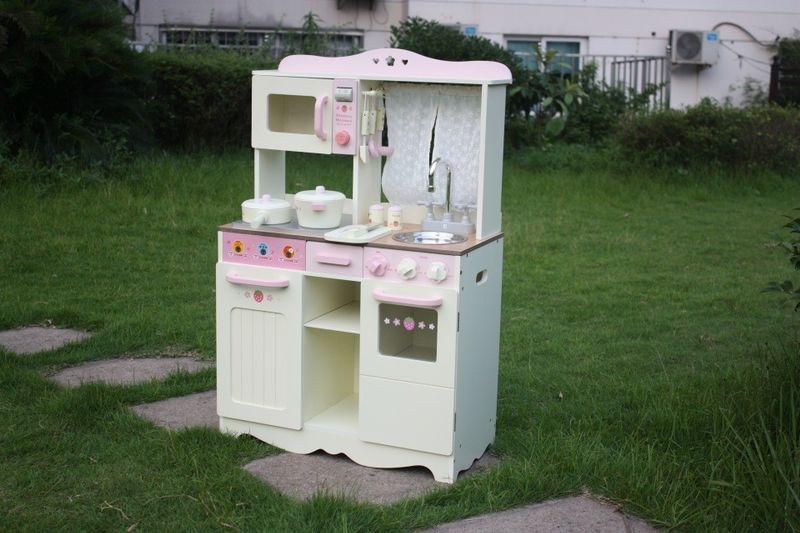 Drewniana Kuchnia Dla Dzieci VINTAGE - Duży Zestaw zdjęcie 5
