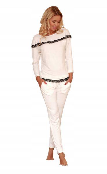 53b4e813a57075 Piżama sexi komplet bluzka spodnie r.s • Arena.pl
