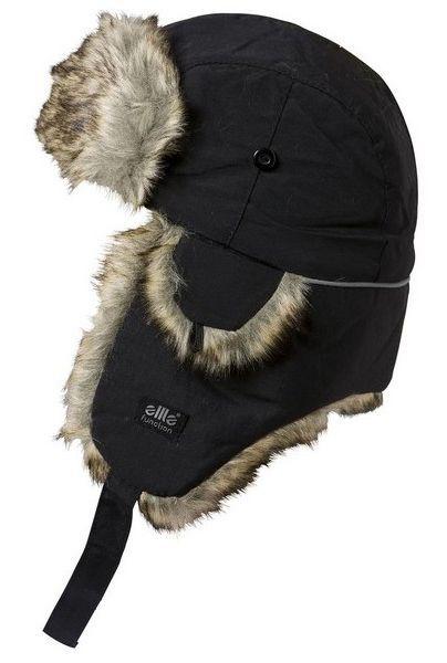 Czapka zimowa uszatka Satila JOEL czarna - r. 52 - 54 cm zdjęcie 2