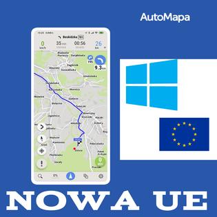 Nowa AutoMapa Europy Windows CE/PC