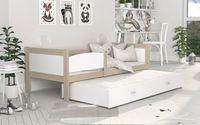 Łóżko TWIST P2 190x80 wysuwane + szuflada + materace