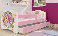 Łóżko 180x80 LUKI szuflada + materac