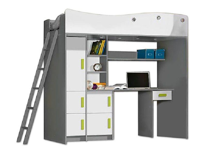 Łóżko Piętrowe dla dzieci, meble młodzieżowe antresola  GIT zdjęcie 1