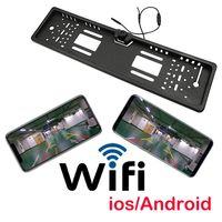 Kamera Cofania WiFi bezprzewodowa w ramce iOS HD