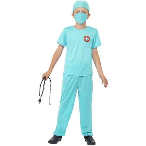 strój LEKARZA lekarz CHIRURG dla dzieci 10-12 lat zdjęcie 1