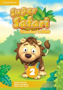 Super Safari 2 Teacher's DVD Puchta Herbert, Gerngross Günter, Lewis-Jones Peter