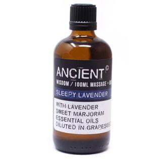 Olejek do Masażu - Usypiająca Lawenda - 100 ml