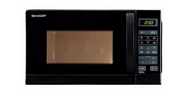 Kuchenka mikrofalowa Sharp R642BKW 20l 800W GRILL