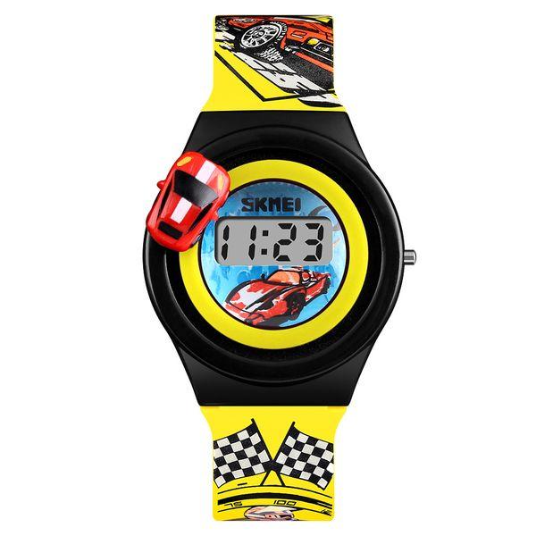 24f67176004e37 Dziecięcy zegarek 5 kolorów AUTO elektroniczny na pasku super prezent  zdjęcie 5