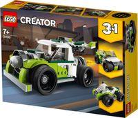 KLOCKI LEGO CREATOR 31103 RAKIETOWY SAMOCHÓD 3W1