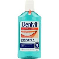 Denivit Complete 7 Antibacterial Mouthwash Płyn Do Płukania Jamy Ustnej Whitening 500Ml