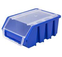 Mały Pojemnik Magazynowy Warsztatowy Ergobox 2 niebieski plus Patrol
