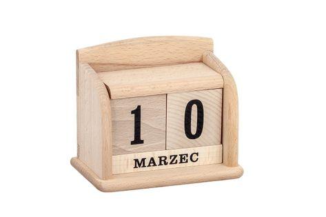 Wieczny kalendarz z drewna #2