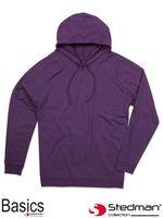 Bluza z kapturem dla mężczyzn i kobiet SST4200 DBY - L