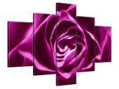 Obraz Drukowany 100x70 Różowo-fioletowa róża  kompozycja  souvenir