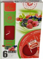 Duże podgrzewacze Tealight Maxi a'6 Forest fruits