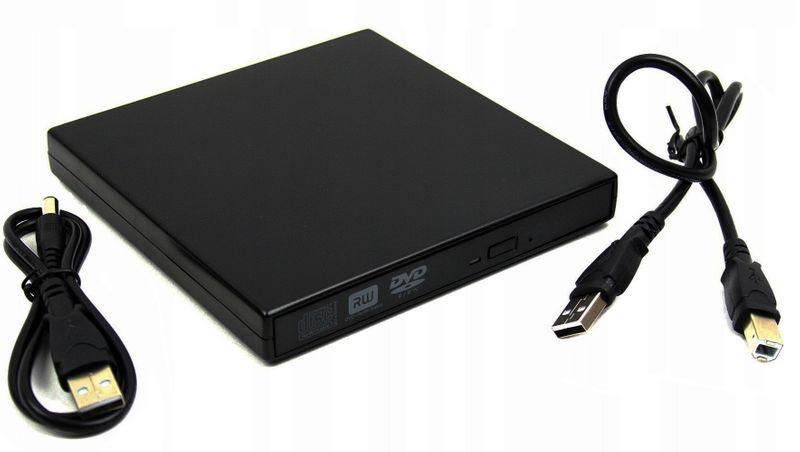 NAGRYWARKA NAPĘD ZEWNĘTRZNY USB PRZENOŚNY CD DVD zdjęcie 1