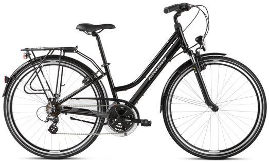 """Kross Trans 2.0 28 M 17"""" rower czarny/szary połysk 12"""
