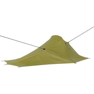 Namiot turystyczny, 317 x 240 x 100 cm, zielony