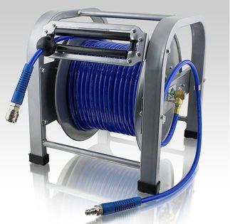 15197 Wąż pneumatyczny automatyczny na zwijaku 30 m z bębnem