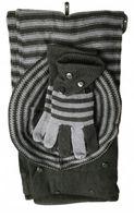KOMPLET ZIMOWY zestaw szalik czapka rękawiczki