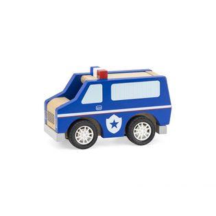 Pojazd Drewniane auto Policja Viga 44513