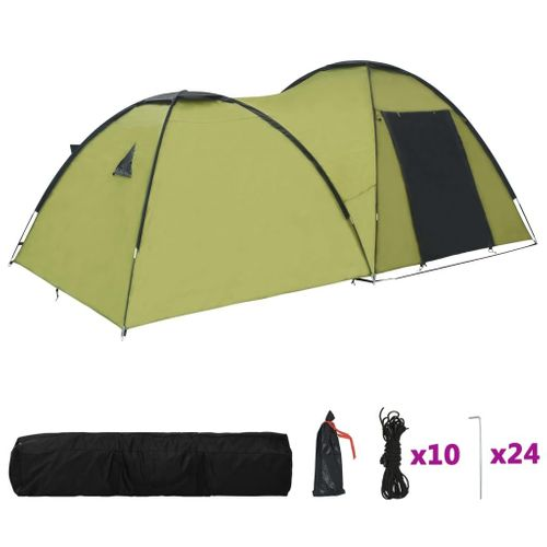 Namiot turystyczny typu igloo 450x240x190cm 4-os. zielony VidaXL na Arena.pl