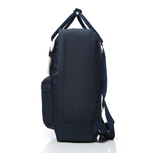 Plecak jak kanken CLASSIC vintage damski młodzieżowy granatowy zdjęcie 3