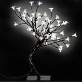 Drzewka LED 45 cm x 2 Białe GXP-683115