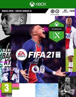 Gra FIFA 21 CZ/HU/RO (XONE)