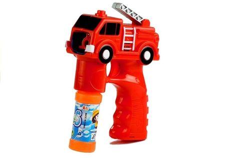 Bańki Mydlane Pistolet Straż Pożarna Zapasy Dźwięk