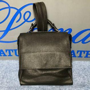 Torba plecak ze skóry naturalnej czarna- polskie - Lamato
